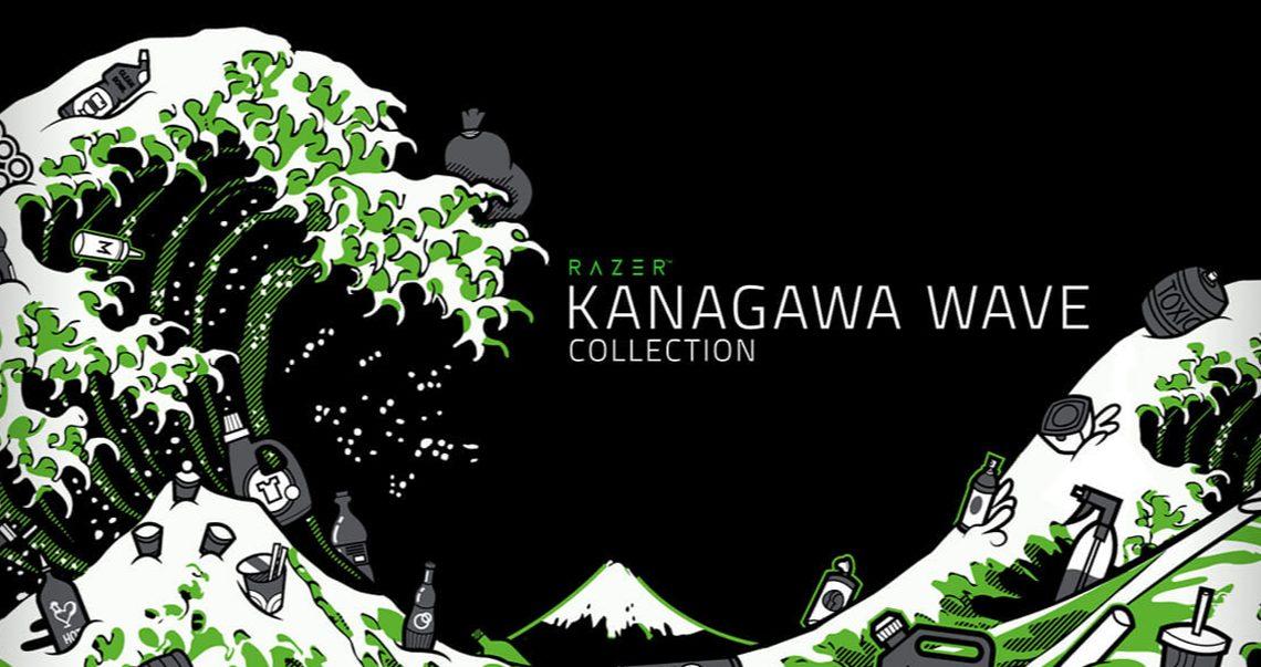Razer presenta la linea de ropa Ola Kanagawa