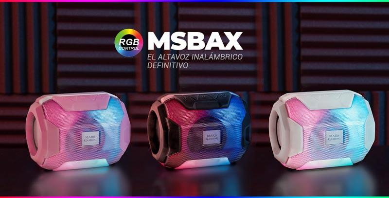 MSBAX el altavoz inalámbrico según Mars Gaming