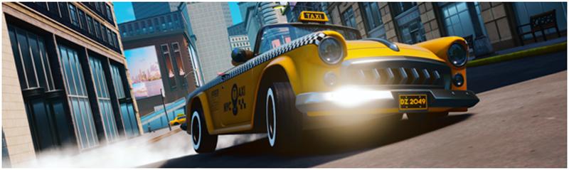 Taxi Chaos, el sucesor de Crazy Taxi, llega el próximo 23 de abril
