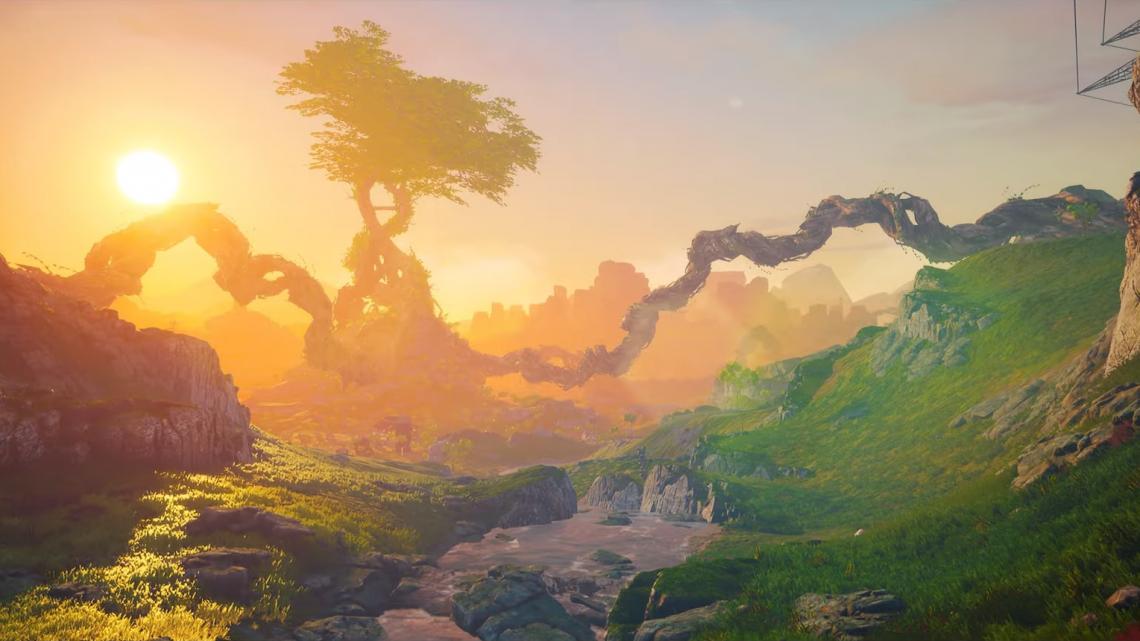 Biomutant nos muestra su bello mundo en un nuevo y relajante vídeo a tan sólo un mes de su lanzamiento