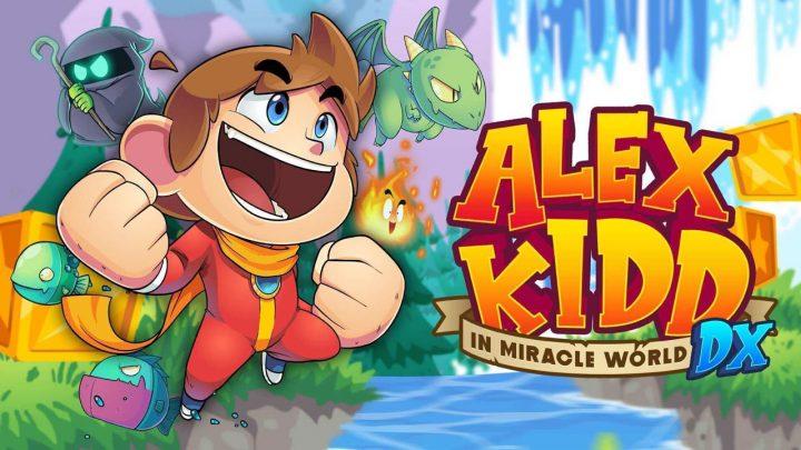 Alex Kidd in Miracle World DX llega el 25 de Junio