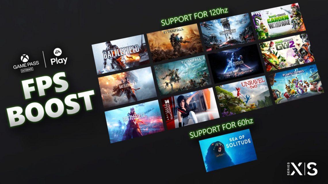 13 títulos de EA se actualizan con el FPSBOOST