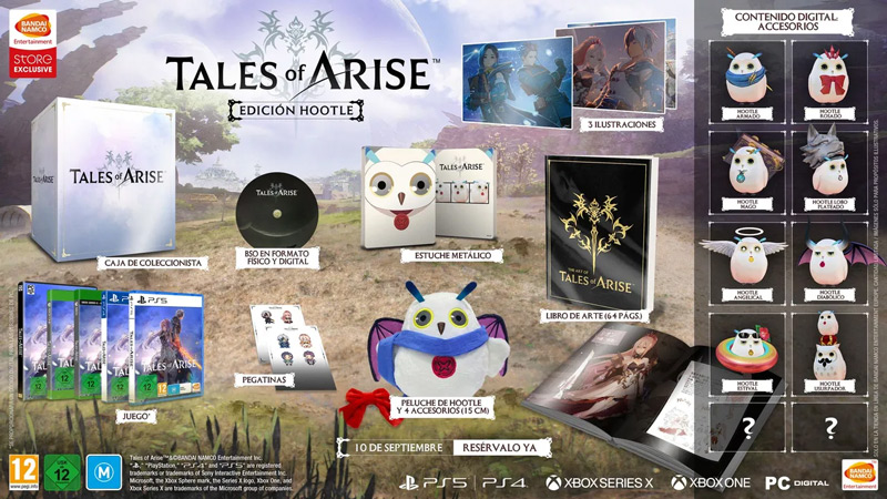 Anunciada la fecha de venta de Tales of ARISE