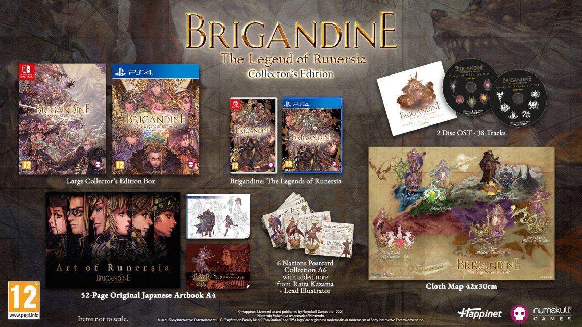 Brigandine: The Legend of Runersia ya cuenta con ediciones físicas