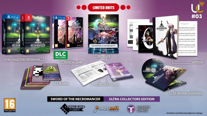 Sword of Necromancer contará con edición física en PS4 y Switch