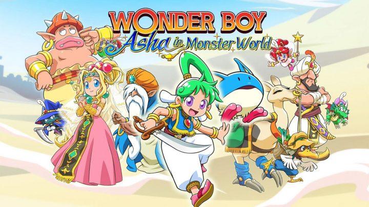 Análisis Wonder Boy Boy Asha in Monster World