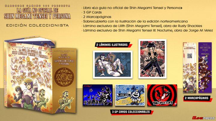 Ya se puede reservar La guía no oficial de Shin Megami Tensei y Persona