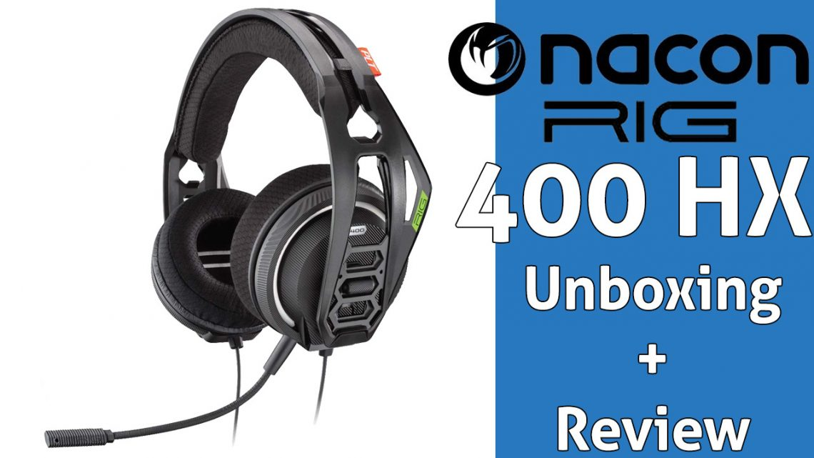 Unboxig y Review RIG 400HX