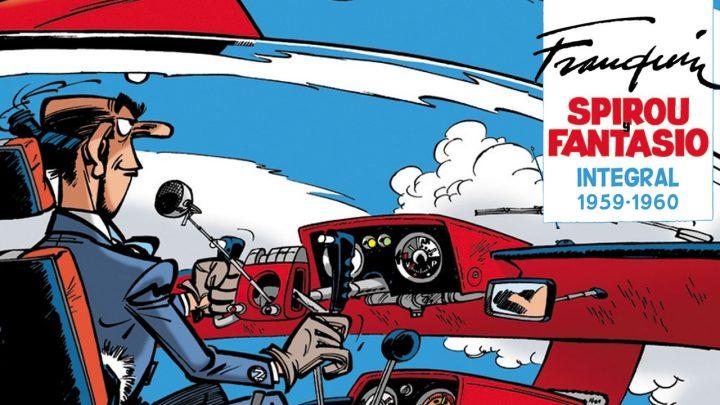 Spirou y Fantasio Integral #7 de 1959 a 1960, de André Franquin