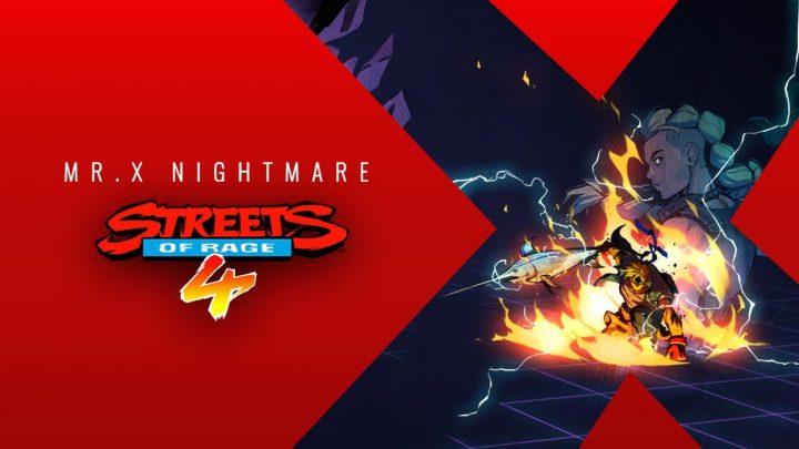 El DLC de Streets of Rage 4, Mr. X Nightmare, anuncia su fecha de lanzamiento y presenta nuevo tráiler