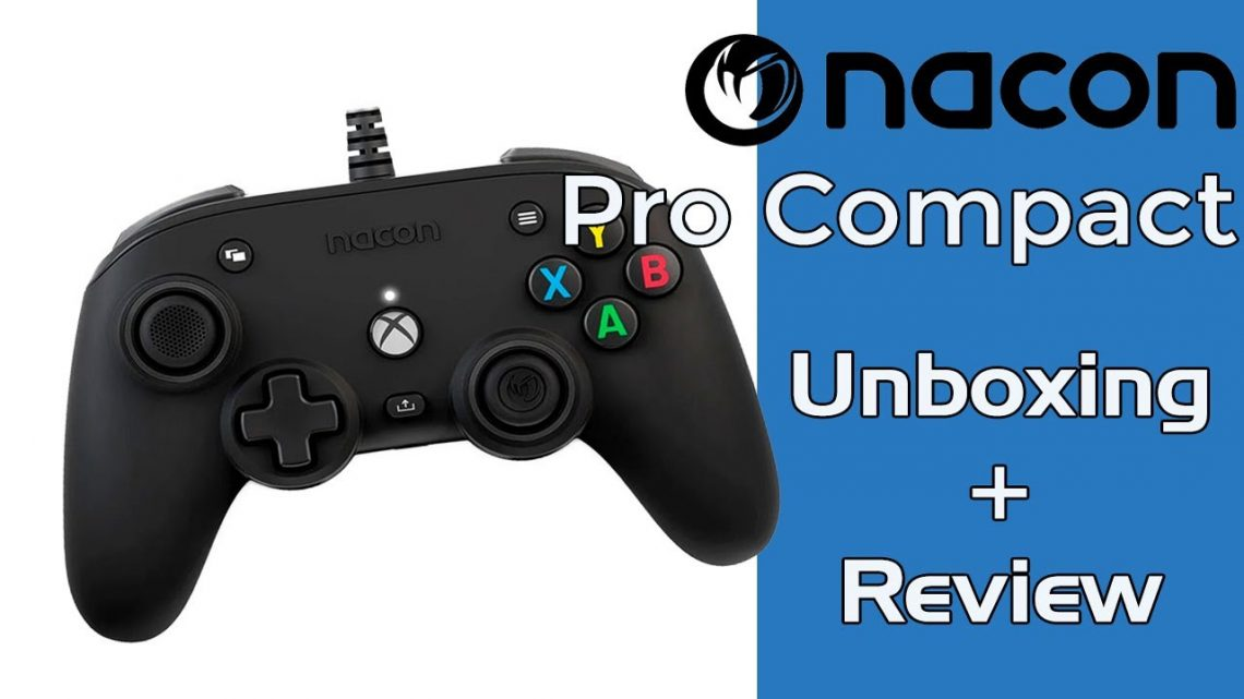 Unboxig y Review Nacon Pro Compact para Xbox