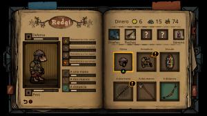 Podremos equipar a Redgi para adaptarlo a la forma de combatir que más nos guste
