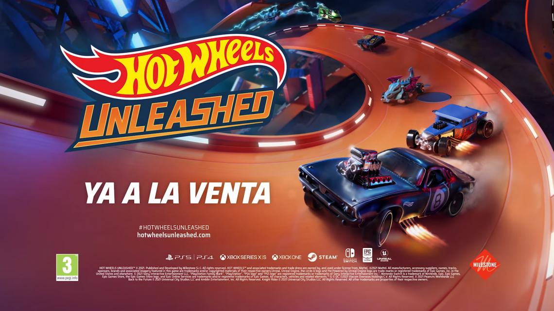 Tráiler de lanzamiento de Hot Wheels Unleashed, que llega el día 30 en formato físico a consolas y PC