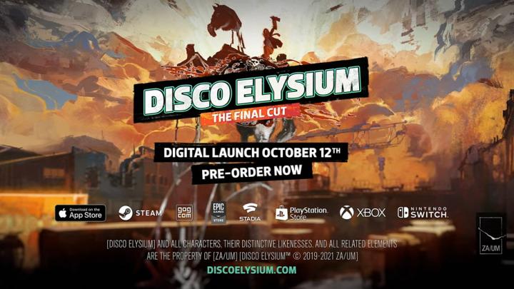 Disco Elysium – The Final Cut llegará a consolas Xbox el próximo 12 de octubre