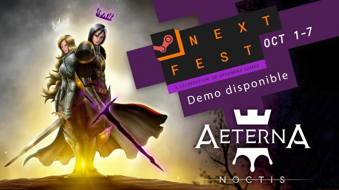 La demo de Aeterna Noctis estará disponible en el Next Fest de Steam
