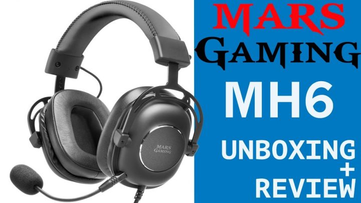Unboxing y Review auriculares headset Mars Gaming MH6