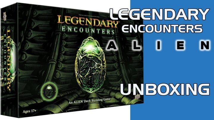 Unboxing de Legendary Encounters Alien de Upper Deck
