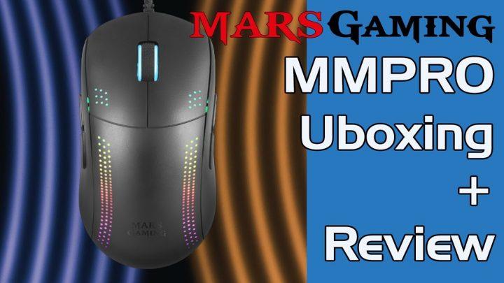 Unboxing y Review MMPRO de MarsGaming